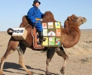 Camello biblioteca