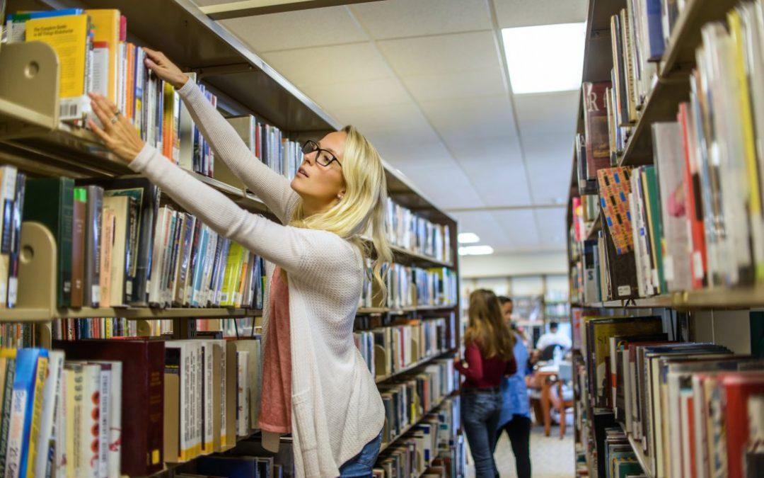 ¿Cómo se ordenan los distintos recursos en una biblioteca?